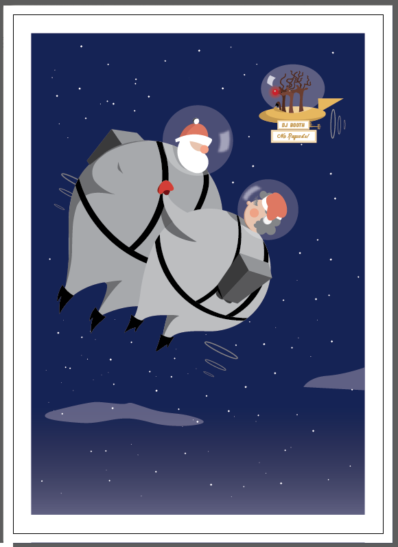 Vintage Inspired Christmas Cards (for small business) - image 7 - student project