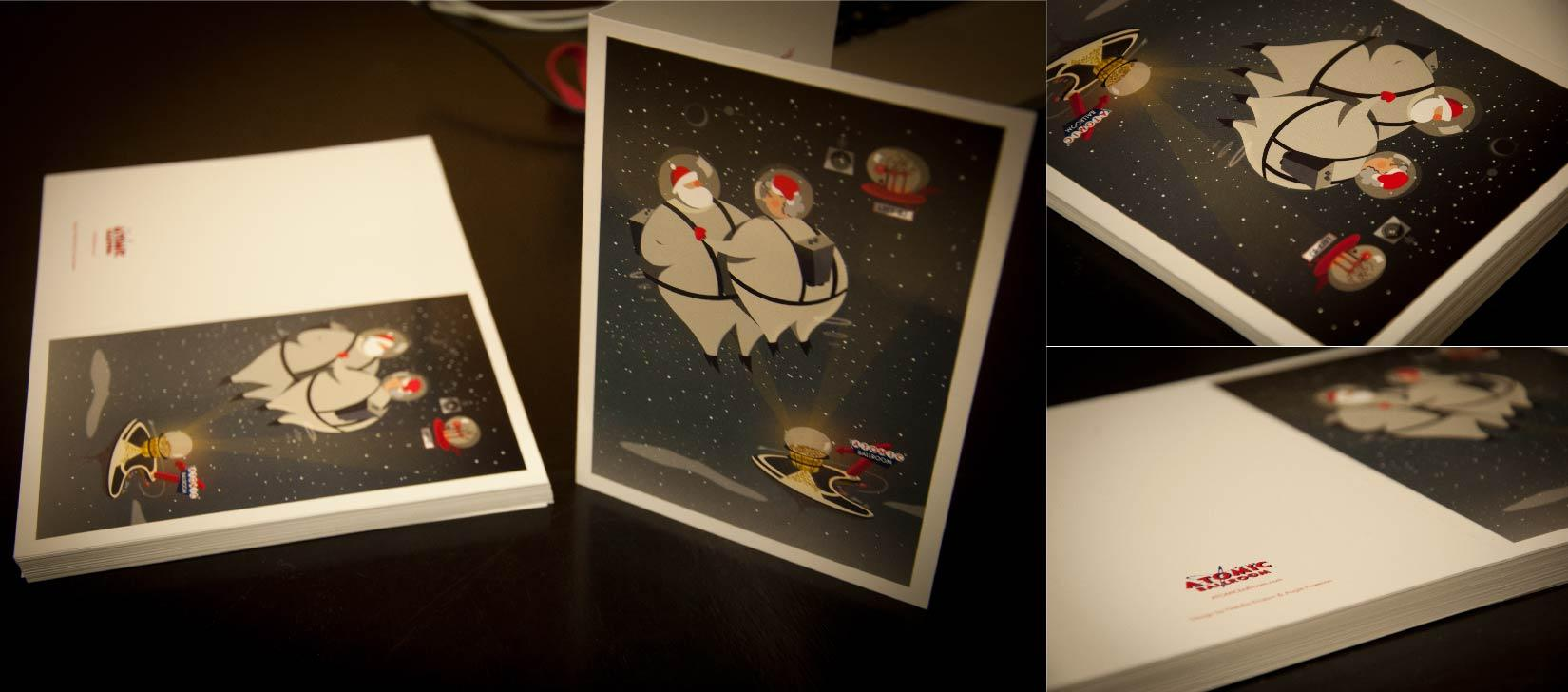 Vintage Inspired Christmas Cards (for small business) - image 14 - student project