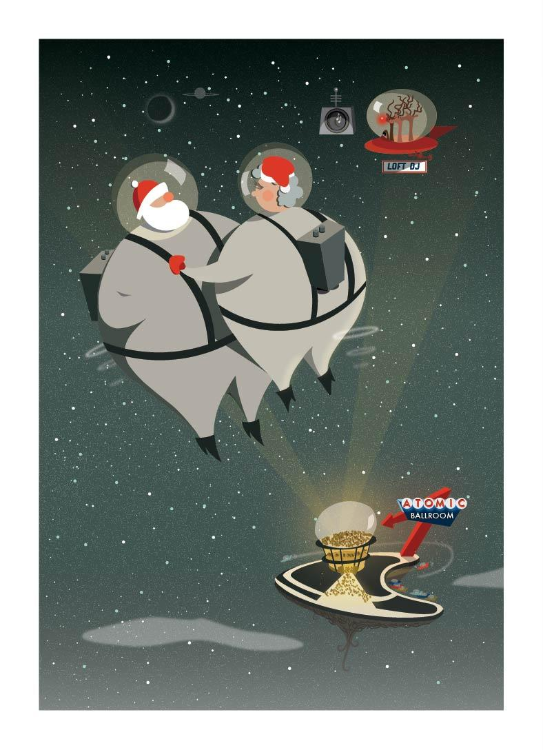 Vintage Inspired Christmas Cards (for small business) - image 13 - student project