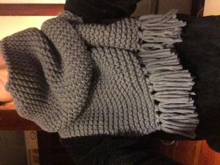 Gray Scarf - image 2 - student project