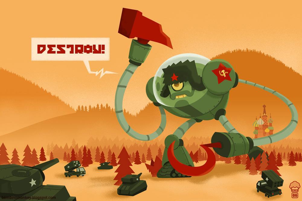 Soviet robot! - image 1 - student project