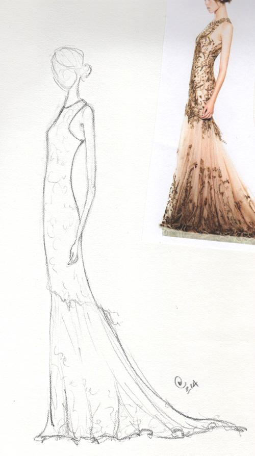 Final Pieces 3-23: Retro Glam - Fabulous, Frilly and Fitted - image 9 - student project