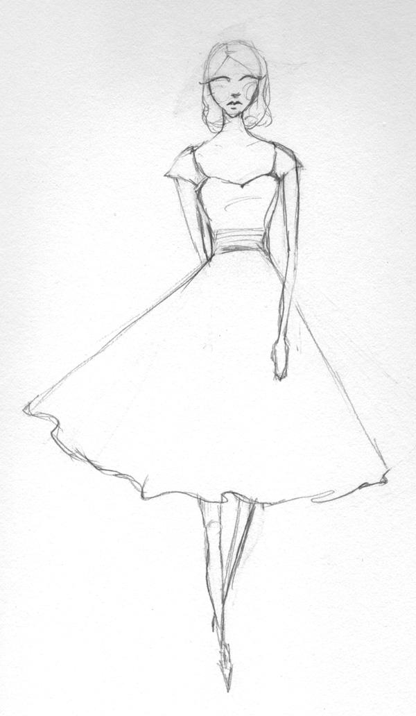 Final Pieces 3-23: Retro Glam - Fabulous, Frilly and Fitted - image 13 - student project