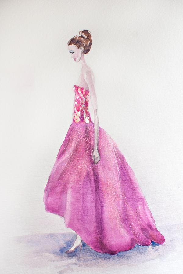 Final Pieces 3-23: Retro Glam - Fabulous, Frilly and Fitted - image 1 - student project
