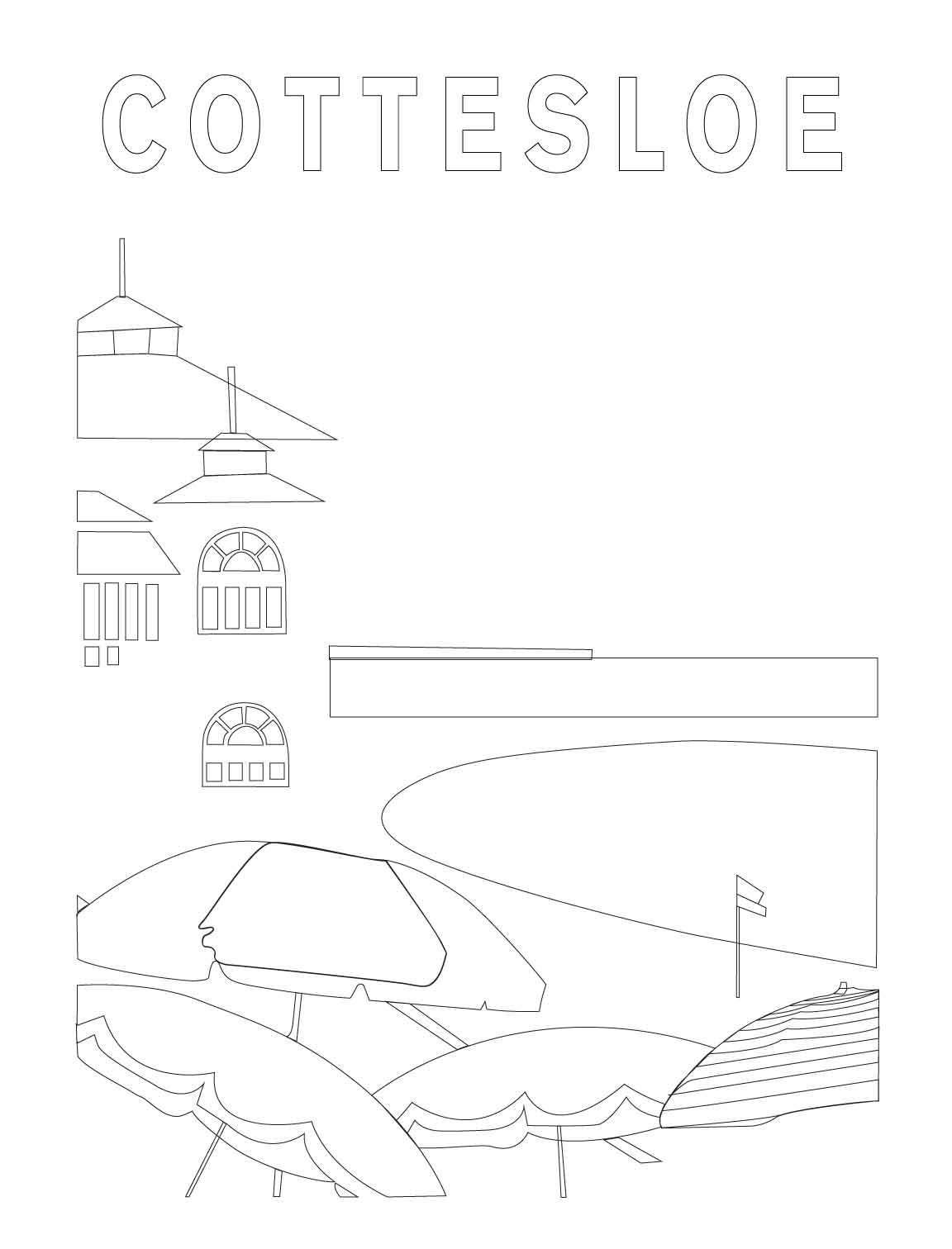 Final version - Cottesloe poster reproduction - image 3 - student project