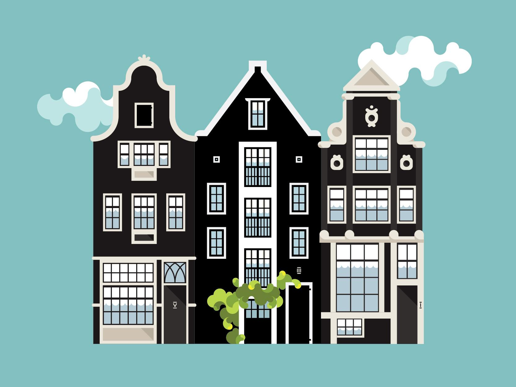 Houses of Amsterdam - image 3 - student project