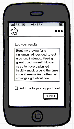 Rein: Craving Management - image 5 - student project