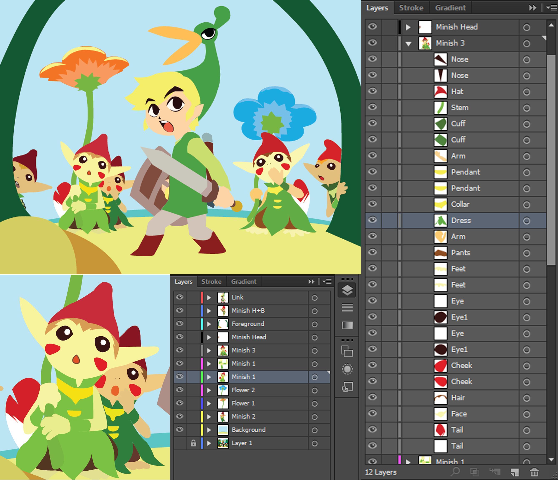 Minish Cap - image 4 - student project