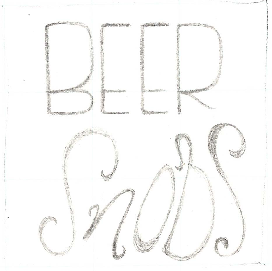 Beer Lettering - image 1 - student project