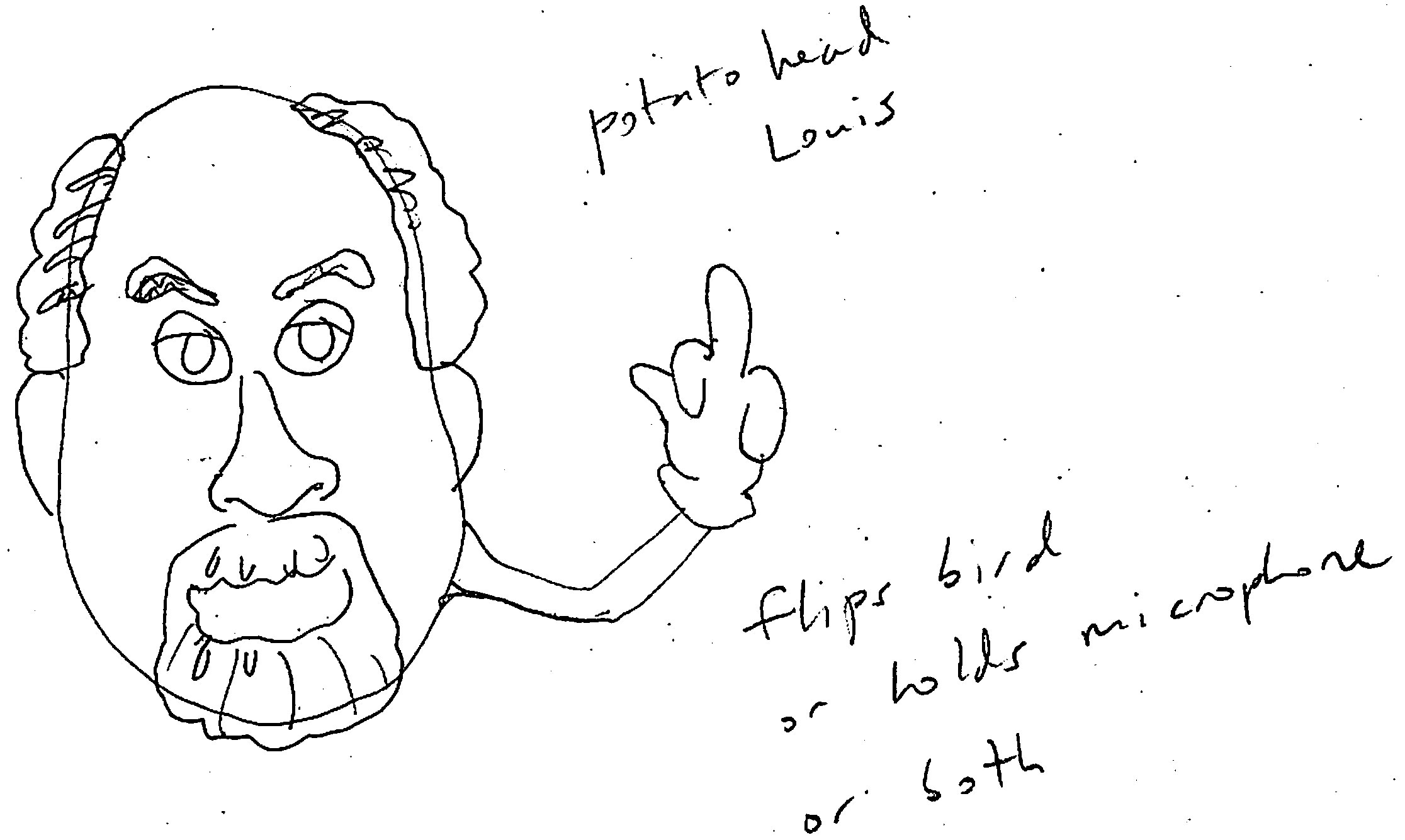 Complete (for now): Louis CK London UK - image 15 - student project