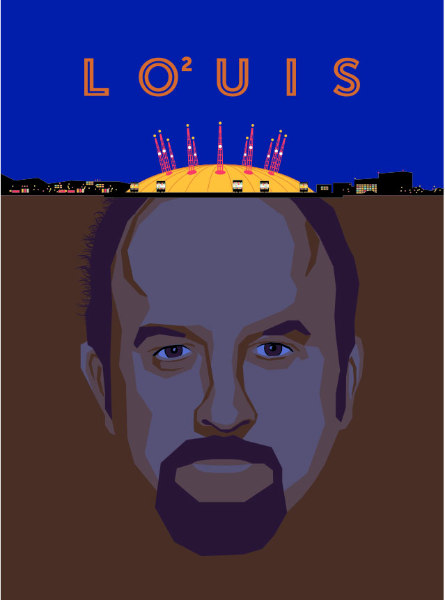 Complete (for now): Louis CK London UK - image 14 - student project