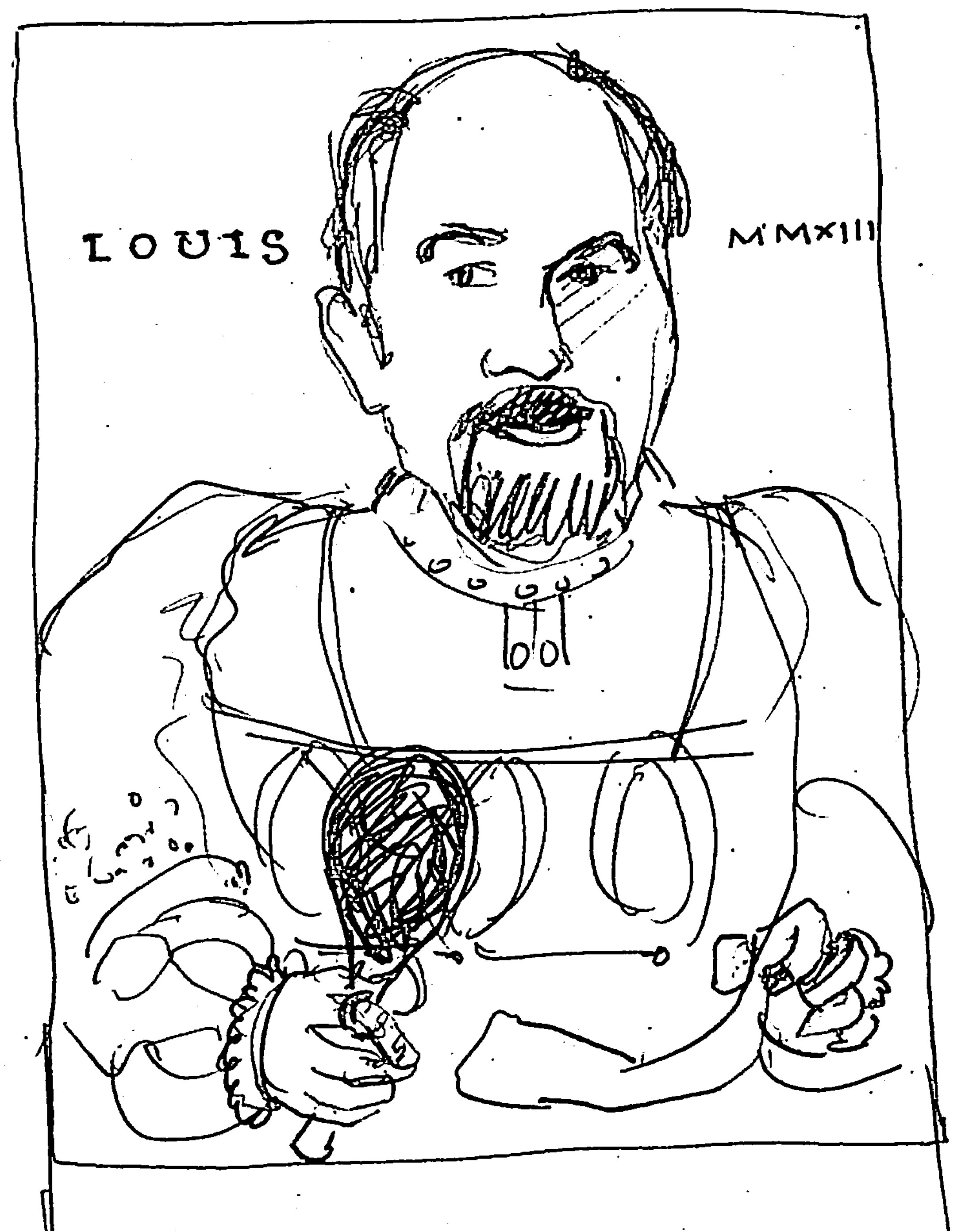 Complete (for now): Louis CK London UK - image 18 - student project
