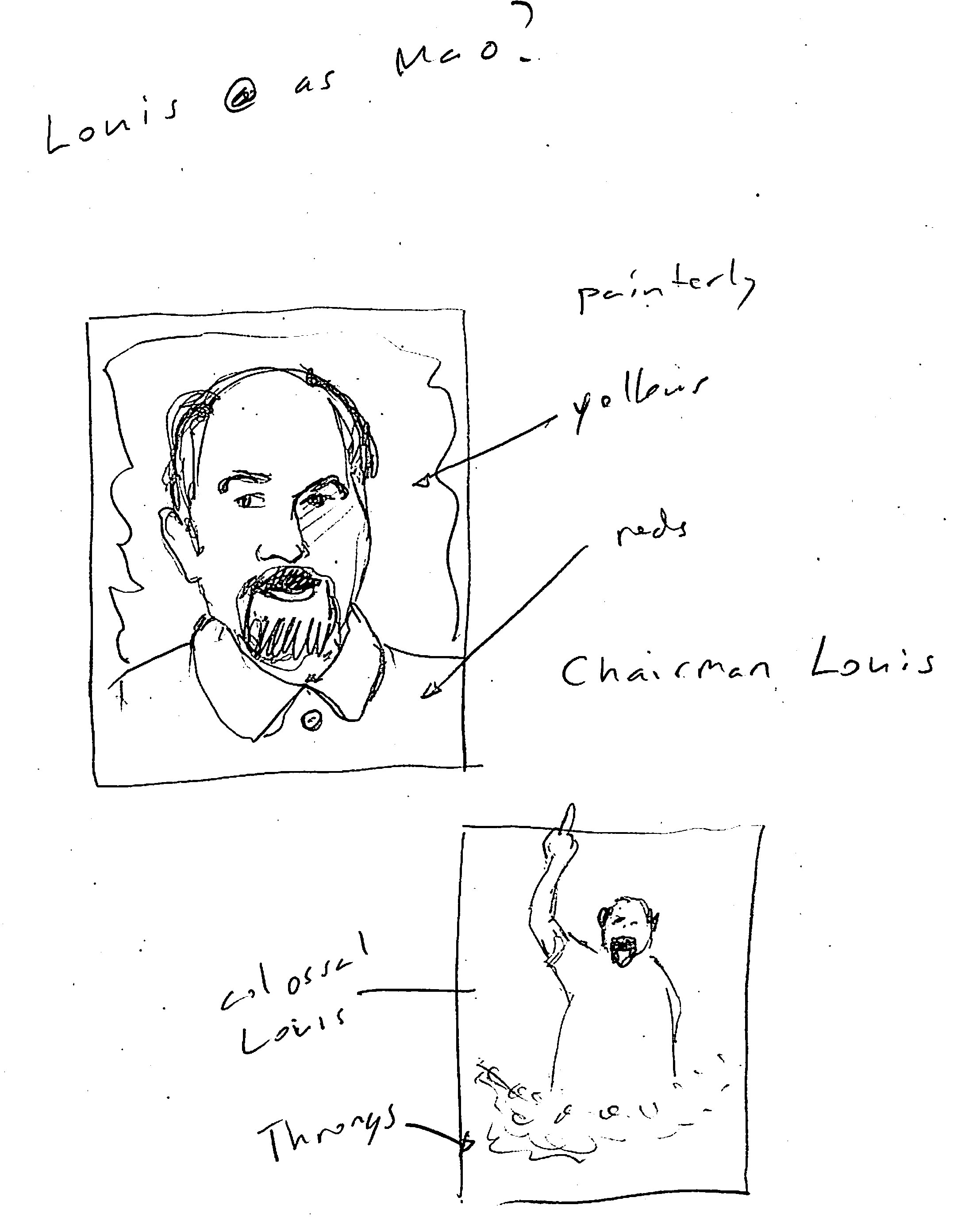 Complete (for now): Louis CK London UK - image 16 - student project