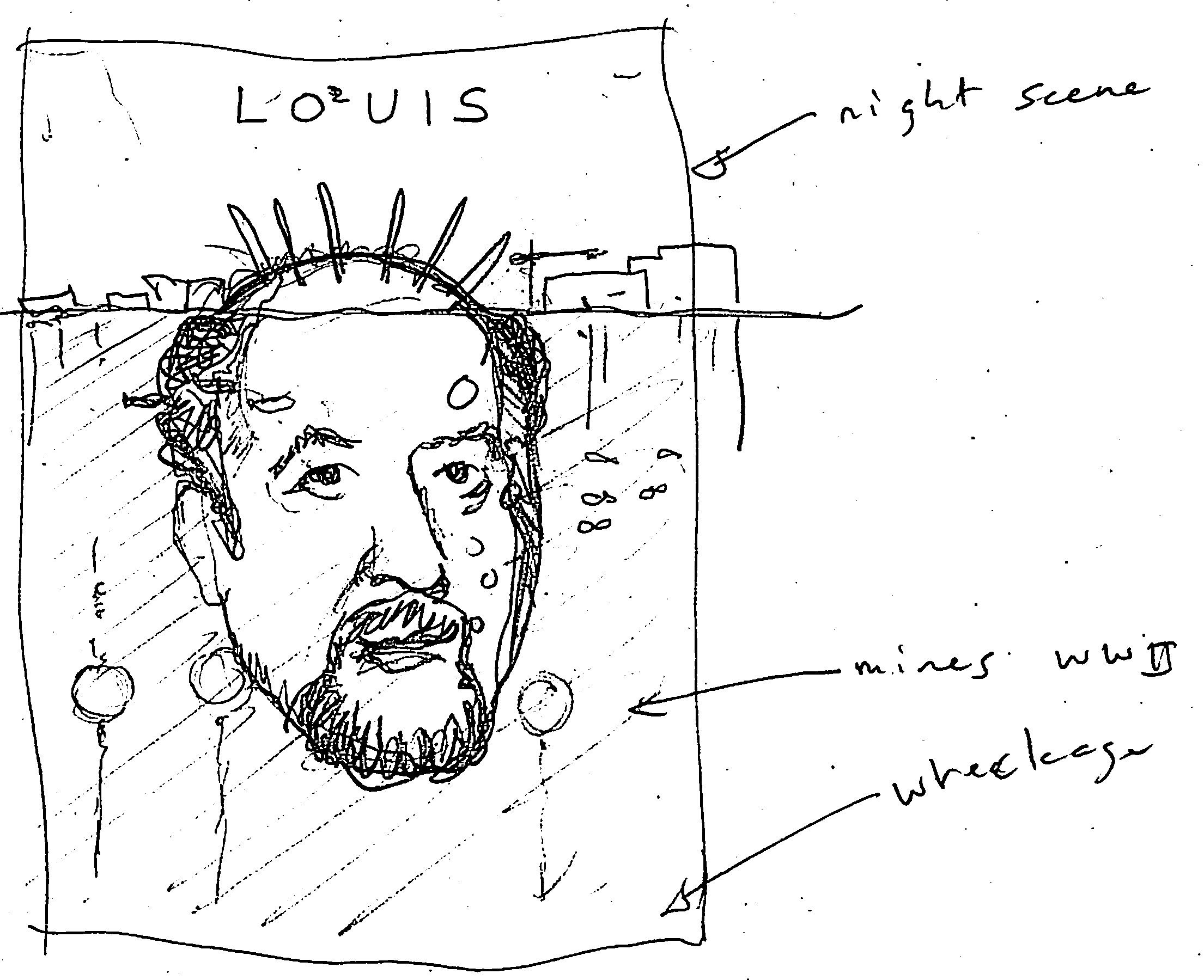 Complete (for now): Louis CK London UK - image 20 - student project