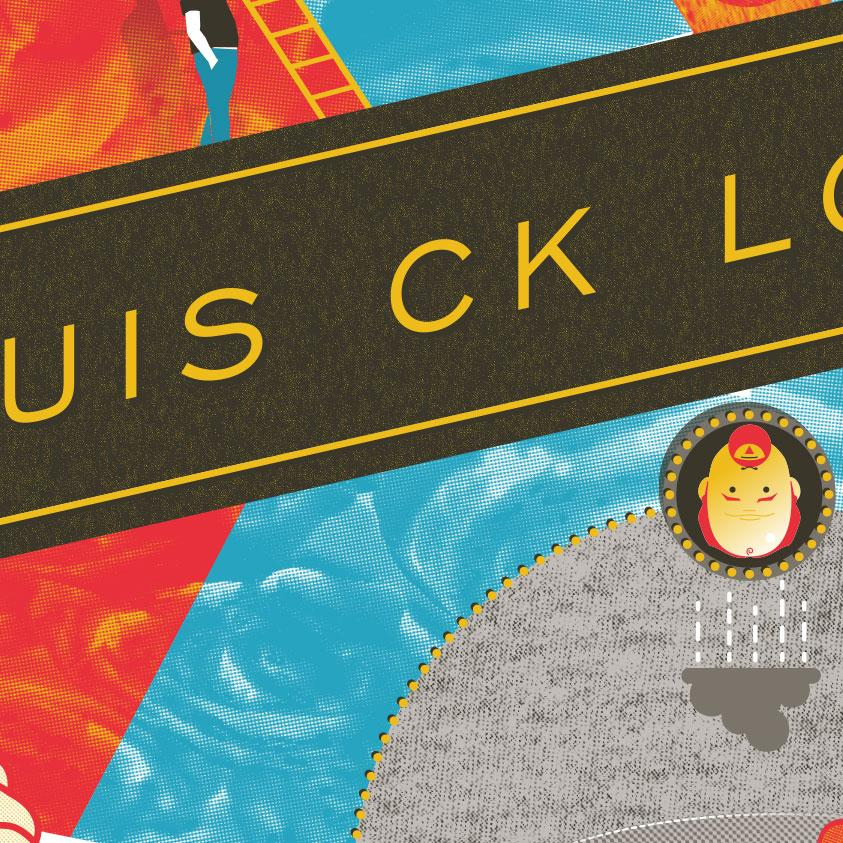 Complete (for now): Louis CK London UK - image 2 - student project