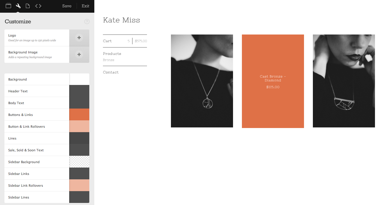 Kate Miss Jewelry Shop - image 5 - student project