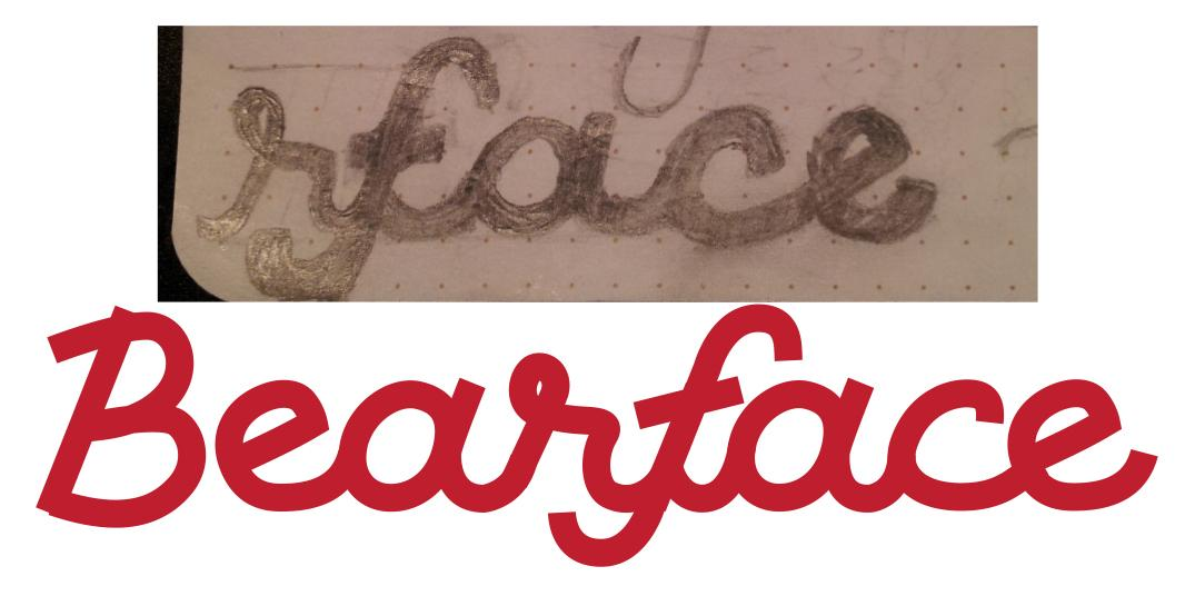 Bearface - Lettering - image 13 - student project