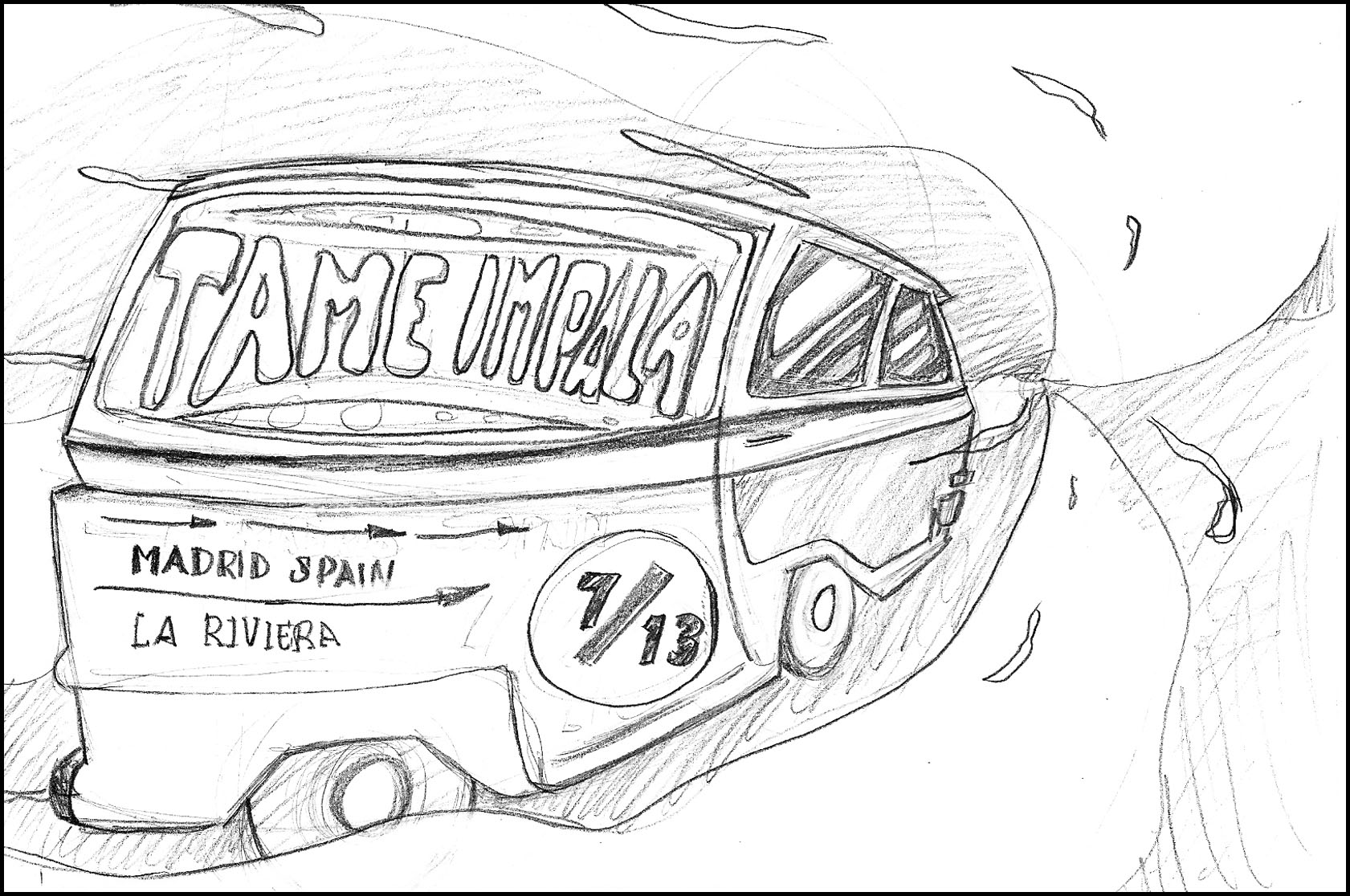 Tame Impala · Madrid, Spain - image 9 - student project