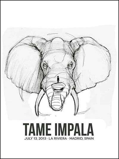 Tame Impala · Madrid, Spain - image 11 - student project