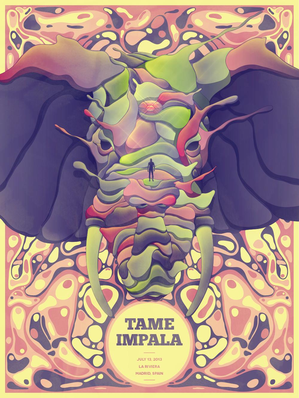 Tame Impala · Madrid, Spain - image 1 - student project