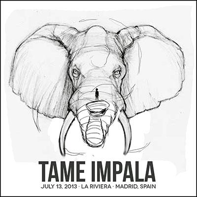 Tame Impala · Madrid, Spain - image 12 - student project