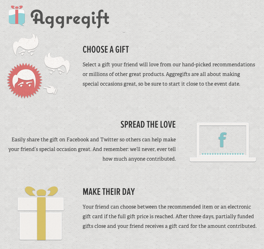 Aggregift - image 2 - student project