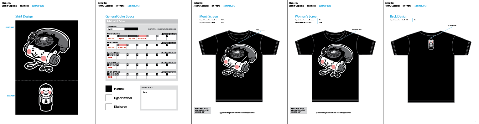 Johnny Cupcakes Vintage Toy Design - image 18 - student project