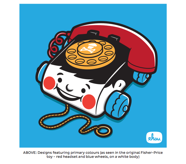 Johnny Cupcakes Vintage Toy Design - image 14 - student project