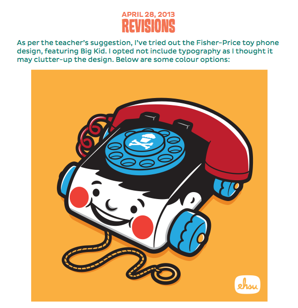 Johnny Cupcakes Vintage Toy Design - image 13 - student project