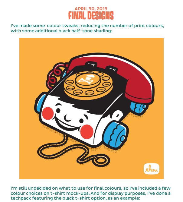 Johnny Cupcakes Vintage Toy Design - image 16 - student project