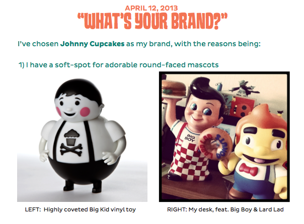 Johnny Cupcakes Vintage Toy Design - image 2 - student project