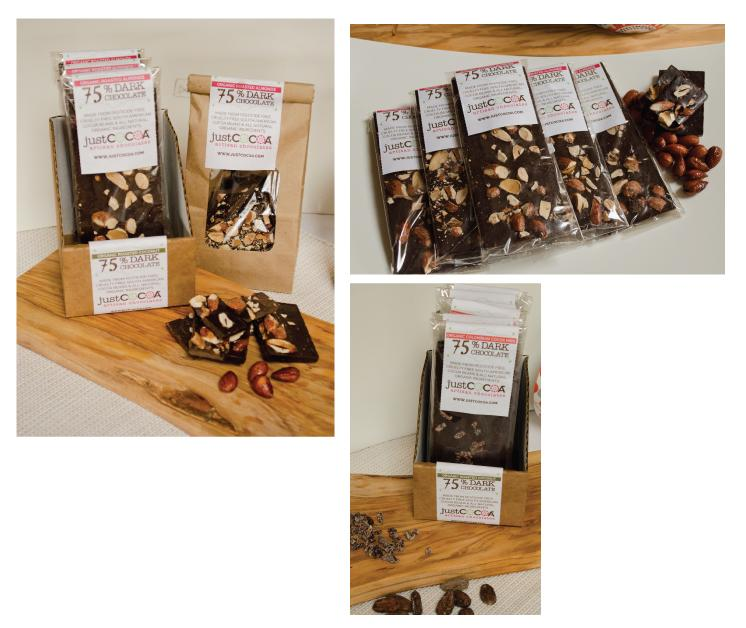 Dark Chocolate Bars - image 3 - student project