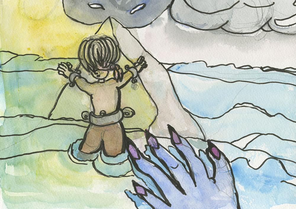 Connor and Niamh and Storyboard Sequence (Teddy Bear War) - image 11 - student project