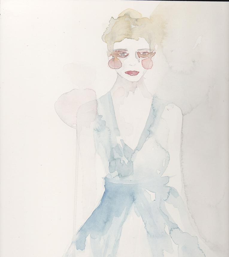 WATERCOLOR :: SKETCH :: Mystery & Intrigue - image 5 - student project