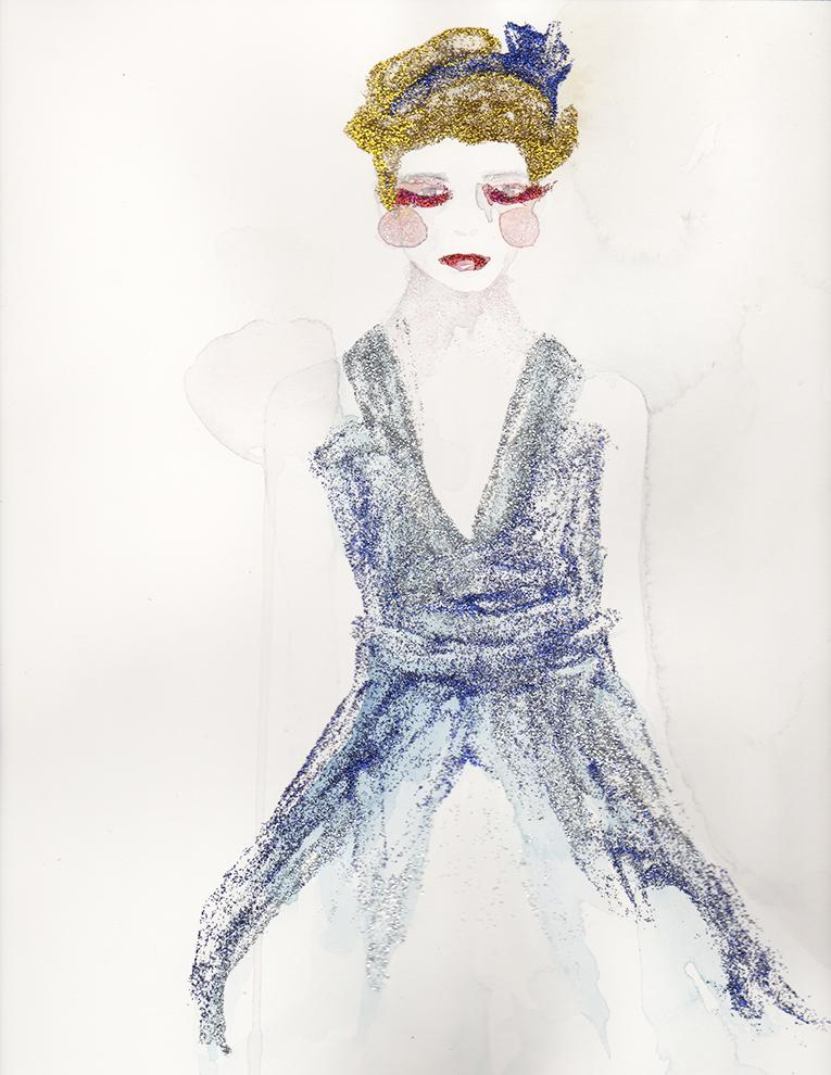 WATERCOLOR :: SKETCH :: Mystery & Intrigue - image 1 - student project