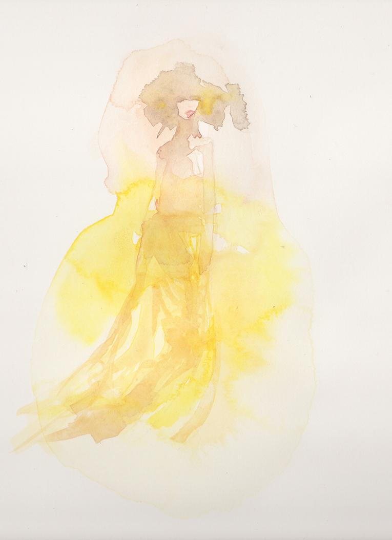 WATERCOLOR :: SKETCH :: Mystery & Intrigue - image 3 - student project