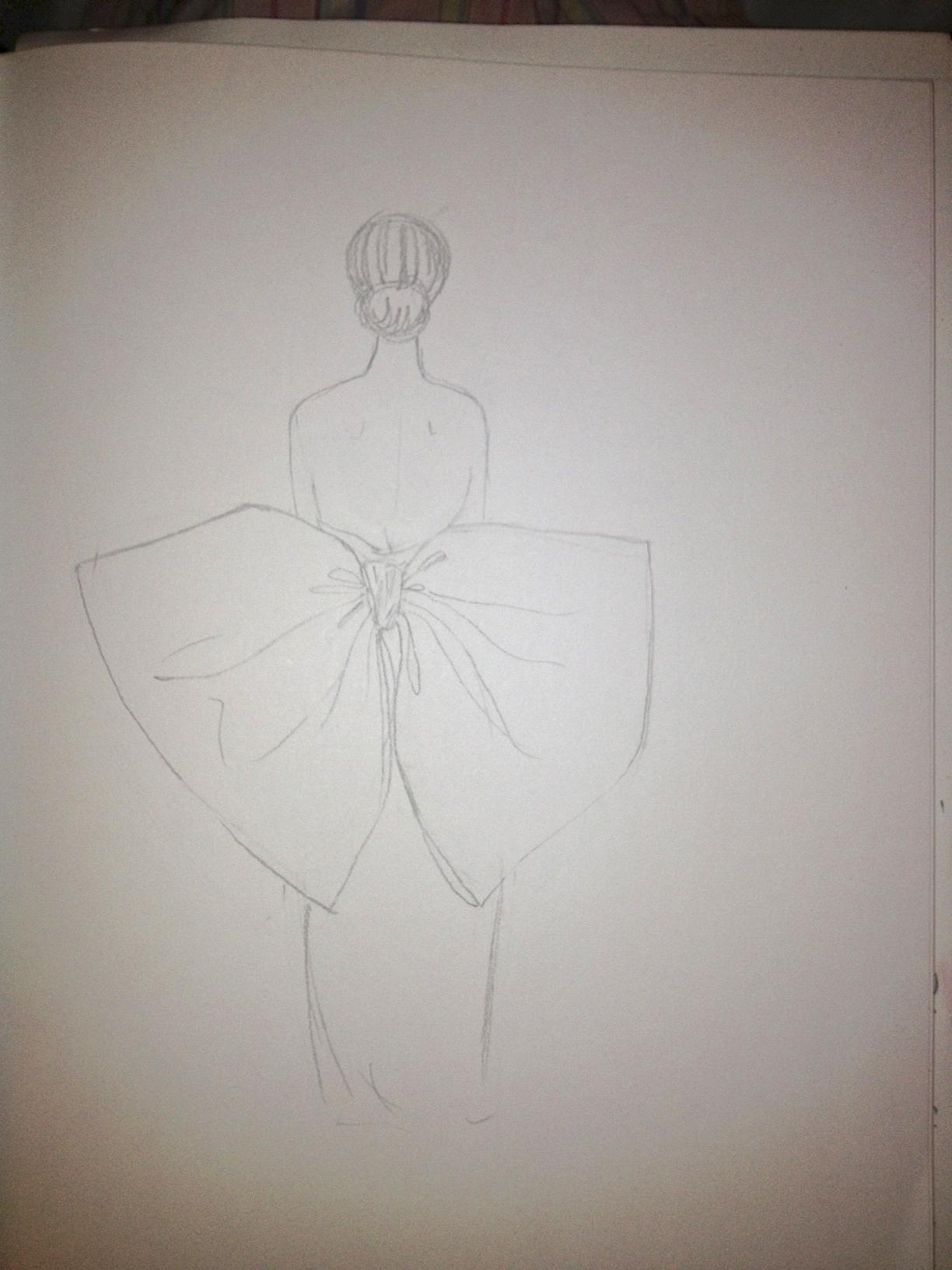 FINAL ~ EMBELLISHED ~ WATERCOLOR ~ SKETCHES ~ Feminine Ways - image 6 - student project