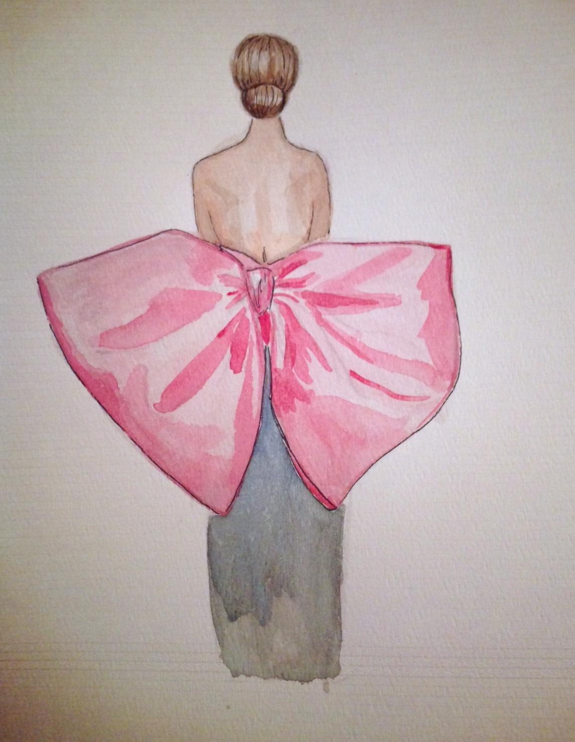 FINAL ~ EMBELLISHED ~ WATERCOLOR ~ SKETCHES ~ Feminine Ways - image 7 - student project
