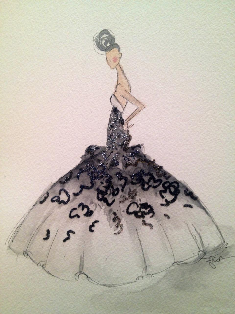 Embellished :For the love of Black, with a touch of Bold. - image 9 - student project