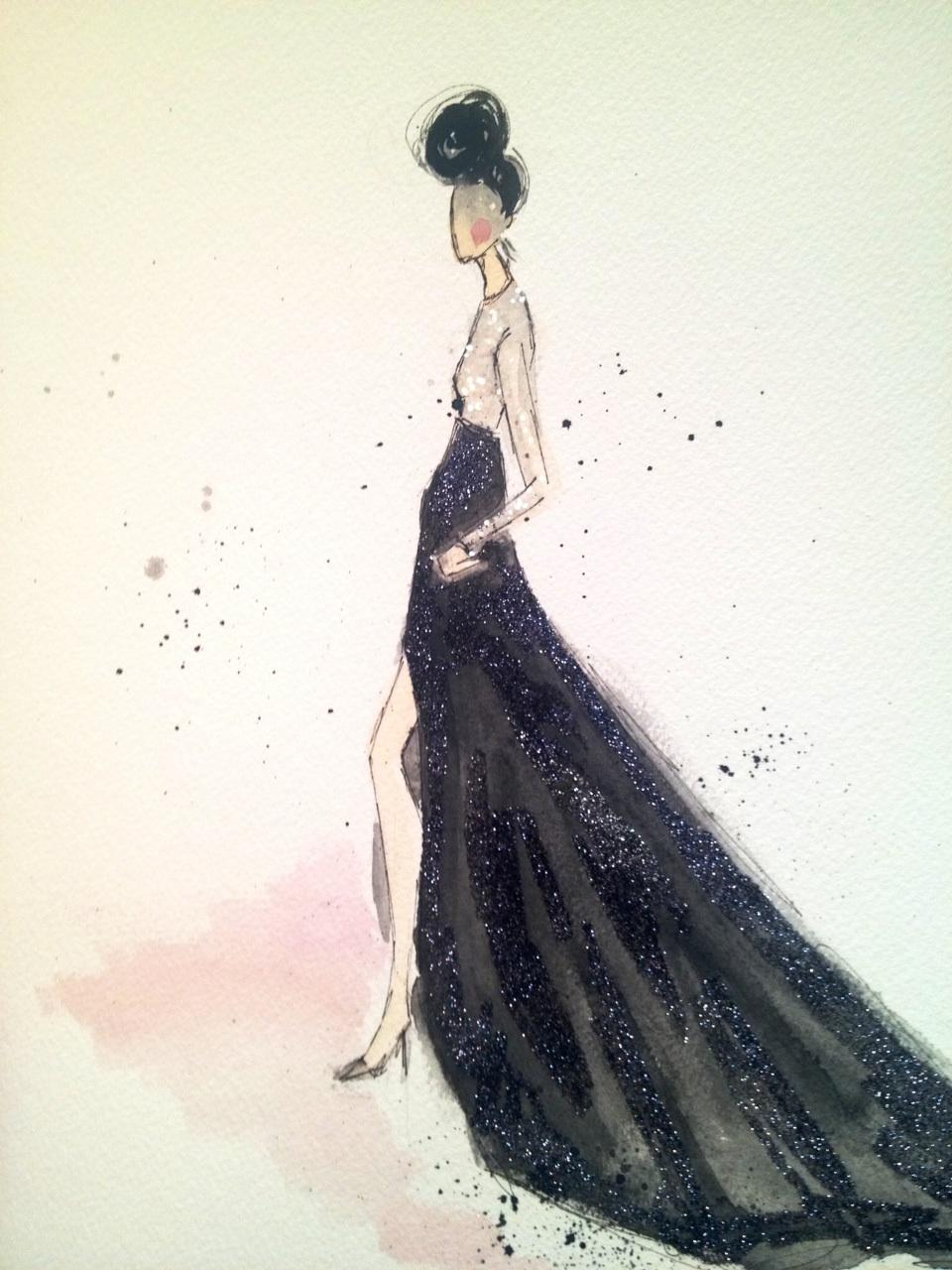 Embellished :For the love of Black, with a touch of Bold. - image 2 - student project