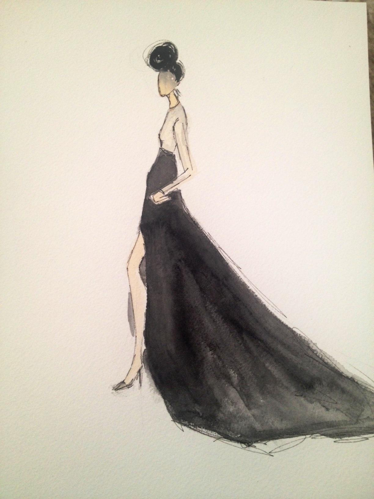 Embellished :For the love of Black, with a touch of Bold. - image 13 - student project