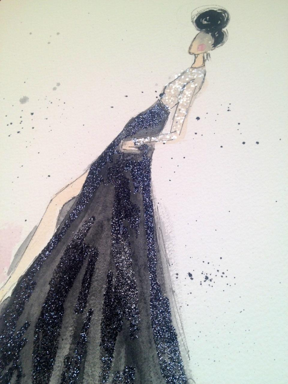 Embellished :For the love of Black, with a touch of Bold. - image 1 - student project