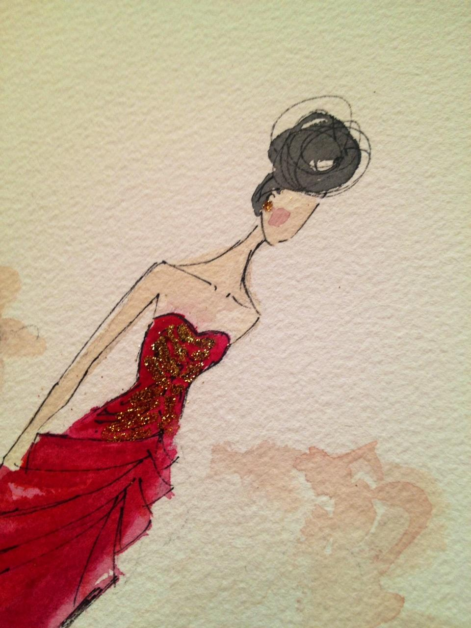 Embellished :For the love of Black, with a touch of Bold. - image 3 - student project