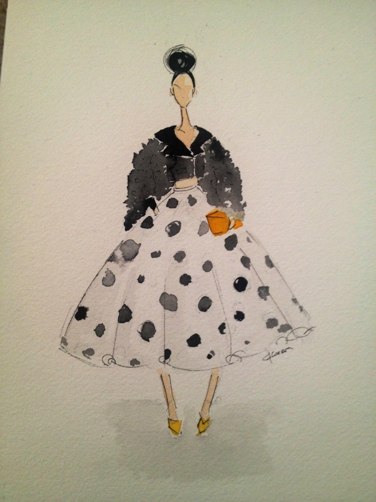 Embellished :For the love of Black, with a touch of Bold. - image 11 - student project