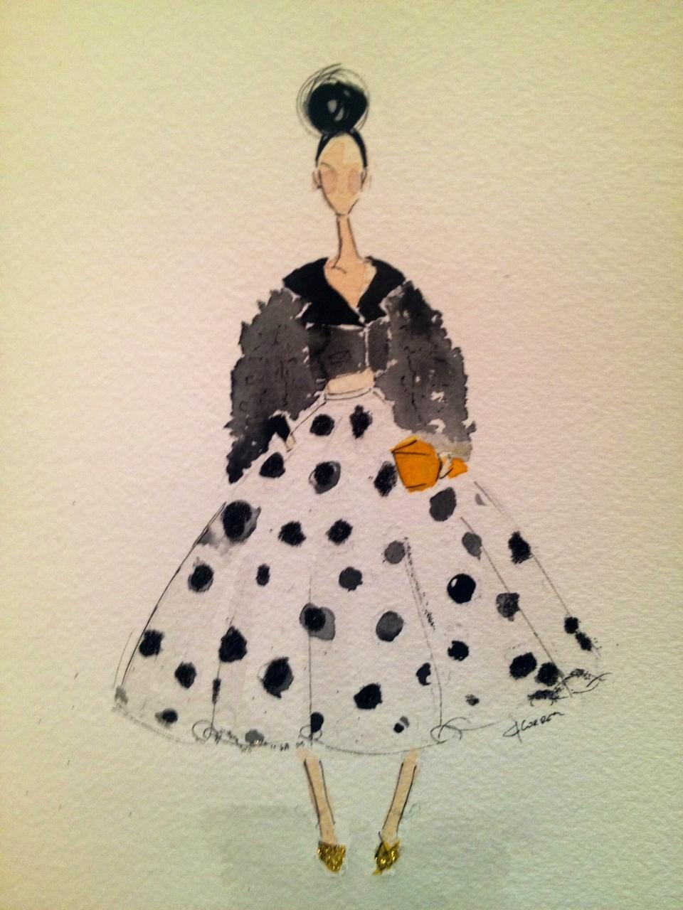 Embellished :For the love of Black, with a touch of Bold. - image 6 - student project