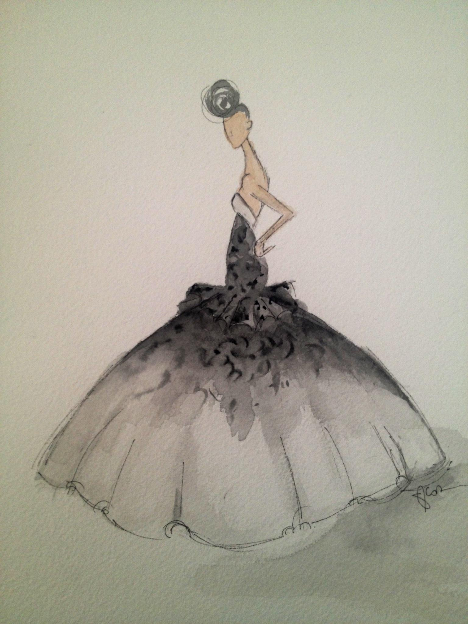Embellished :For the love of Black, with a touch of Bold. - image 10 - student project