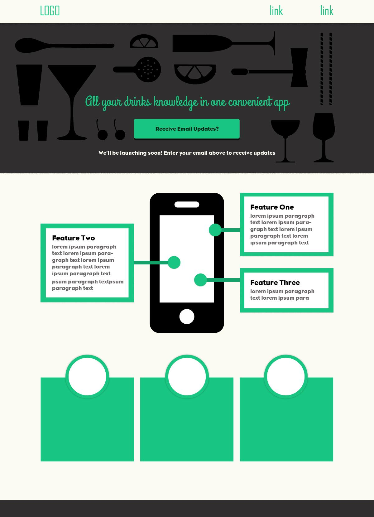 Some Alcohol-Focused Mobile App - image 1 - student project