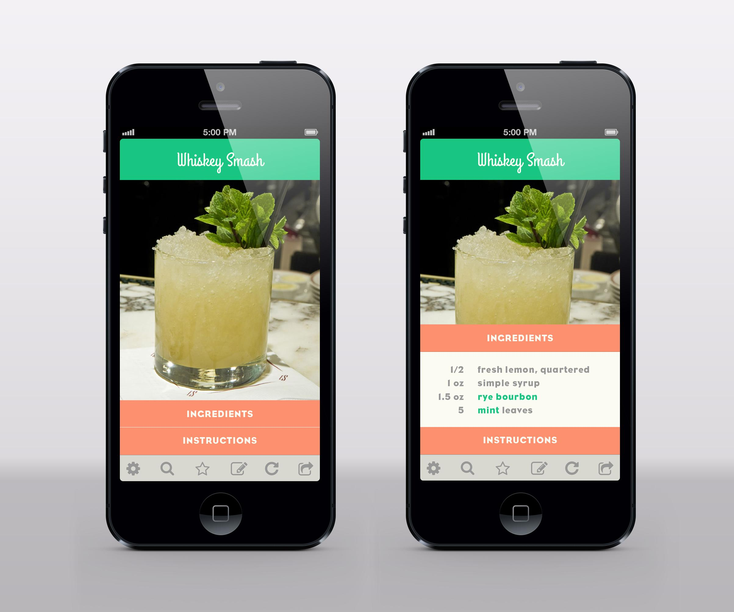 Some Alcohol-Focused Mobile App - image 6 - student project