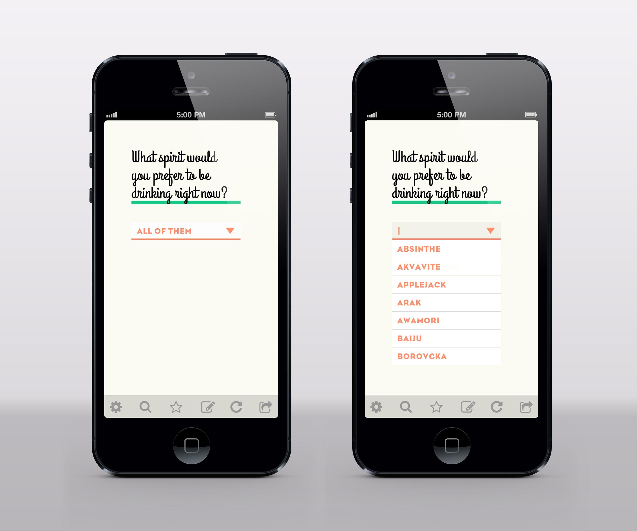 Some Alcohol-Focused Mobile App - image 4 - student project