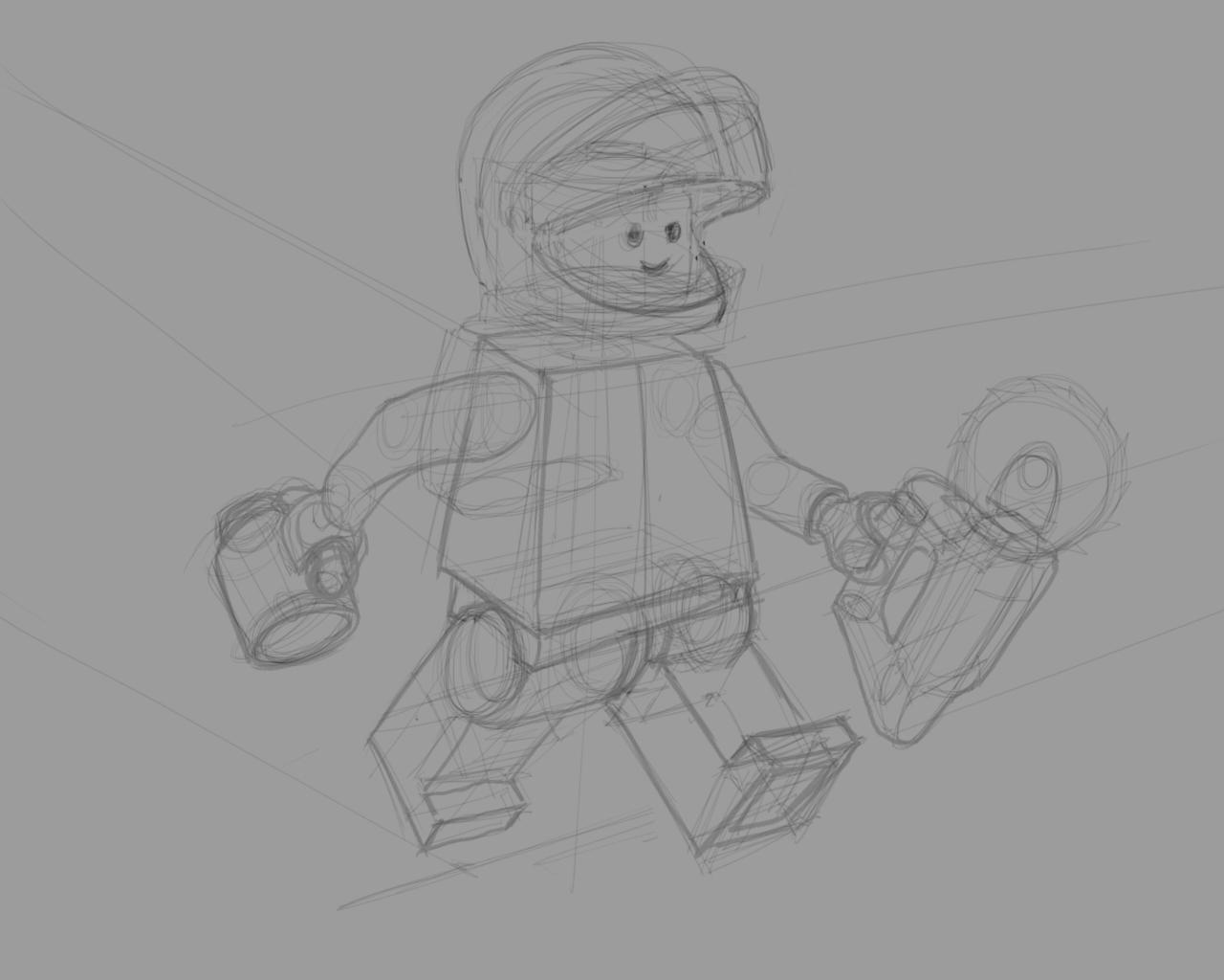 Real Astronaut - image 2 - student project